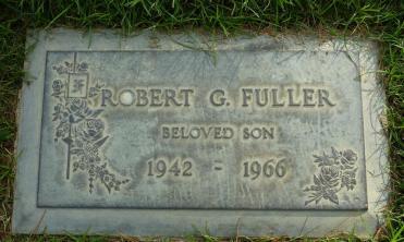 Bobby Fuller's grave.