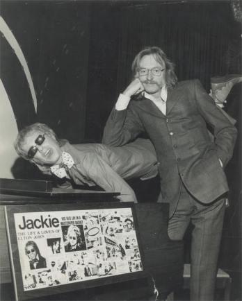 Doug Weston of the Troubador fame, and an Elton John impersonator.