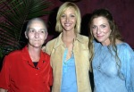 Sharon, Lisa Kudrow and Dawn at Wonderland premiere