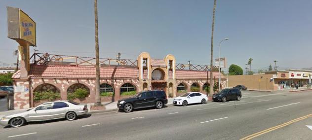 Ali Baba's building?
