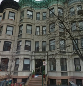 The Hilairs lived in the third floor apartment of this brownstone on Clinton St. in Cobble Hill, Brooklyn