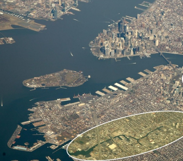 Gowanus Canal - Modern day photo.