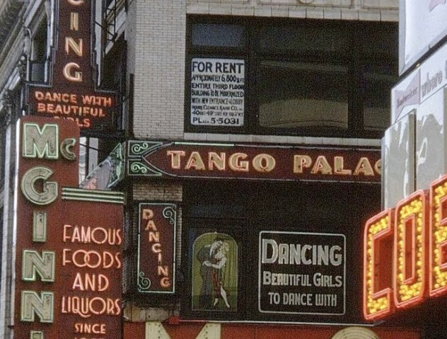 An old tango palace, still around in 1970