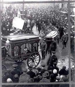 Monk Eastman's funeral