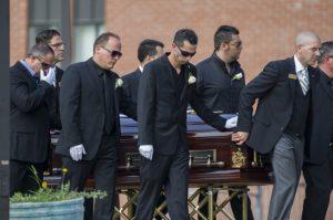 Salvatore Calautti's funeral